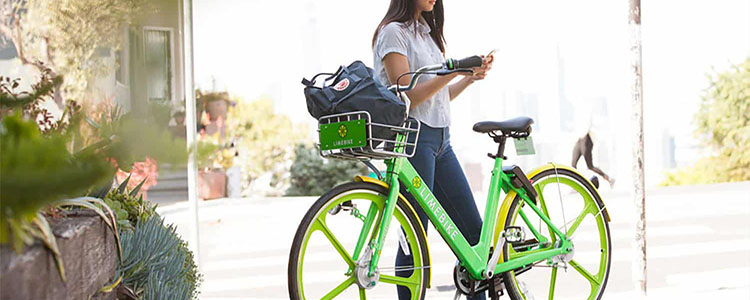Lime Bike App Spokane Green Scooter Bike