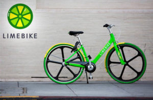LimeBike Spokane Lime Scooters Washington State Green Bike